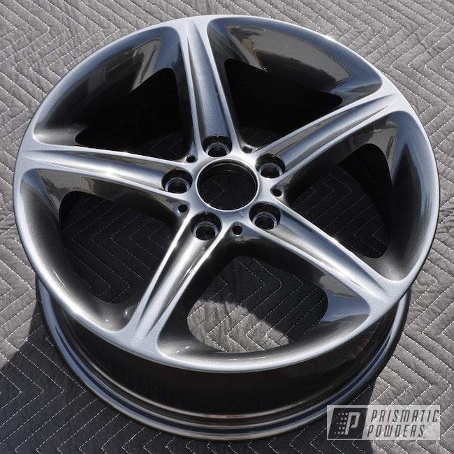 Powder Coating: Wheels,Automotive,BMW Wheels,BMW,Wet Charcoal PMB-6480