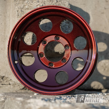 Powder Coated Wheels In Dragons Blood