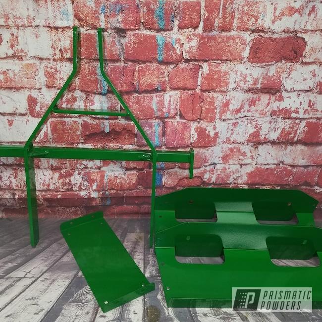 Powder Coating: Tractor Green PSS-4517,Farm Equipment,John Deere