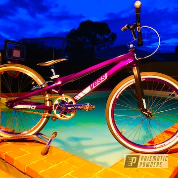 Powder Coated Bmx Typex Race Bike