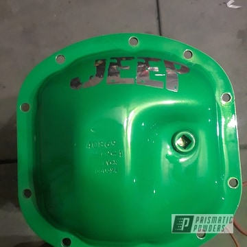 Powder Coated Jeep Differential Cover