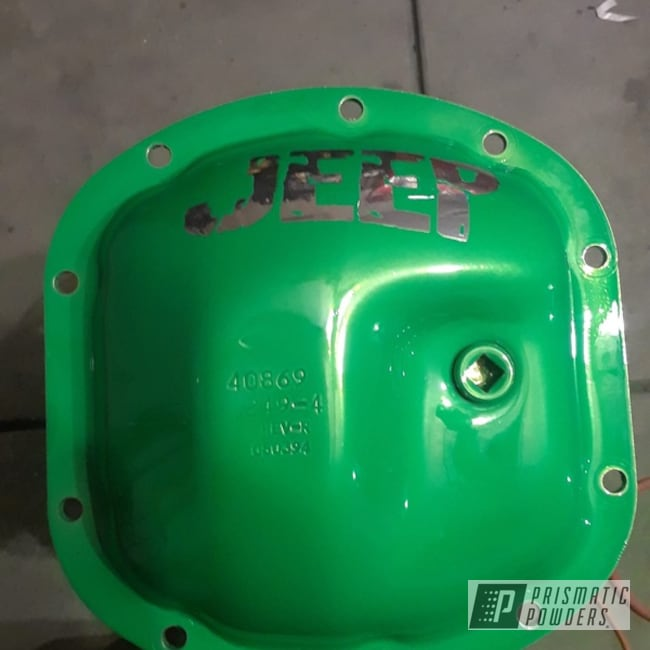 Powder Coating: Auto Parts,Automotive,Energy Green PSB-6669,Refurbished,Differential Cover,Jeep