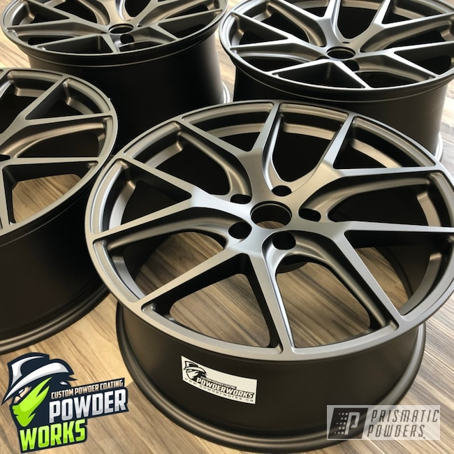 Powder Coated Car Rims