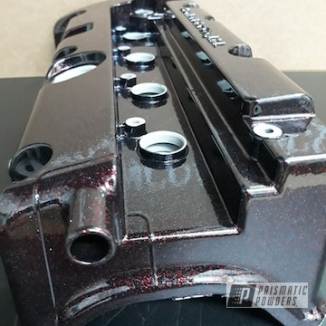 Powder Coated Custom Valve Cover