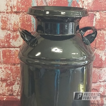 Powder Coated Vintage Milk Can