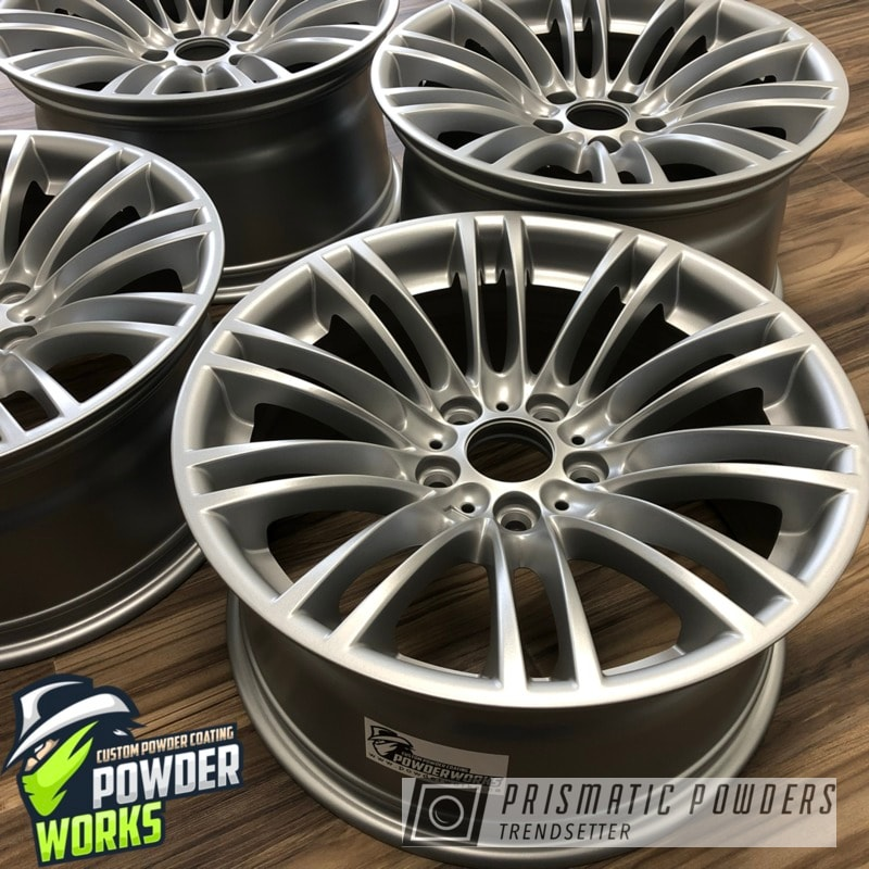 Powder Coating: Wheels,BMW Silver PMB-6525,Automotive