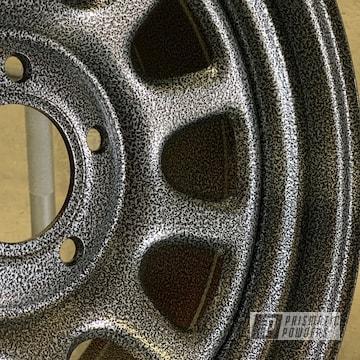 Powder Coated 15 Inch Wheels