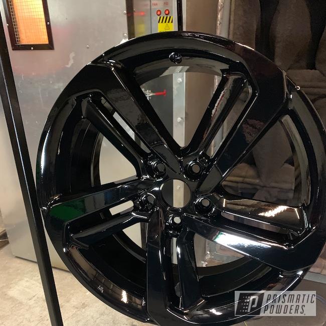 """Powder Coating: Automotive,Ink Black PSS-0106,Honda,20"""",20"""" Aluminum Wheels"""