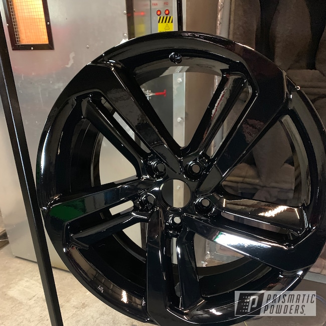 "Powder Coating: Automotive,Ink Black PSS-0106,Honda,20"",20"" Aluminum Wheels"