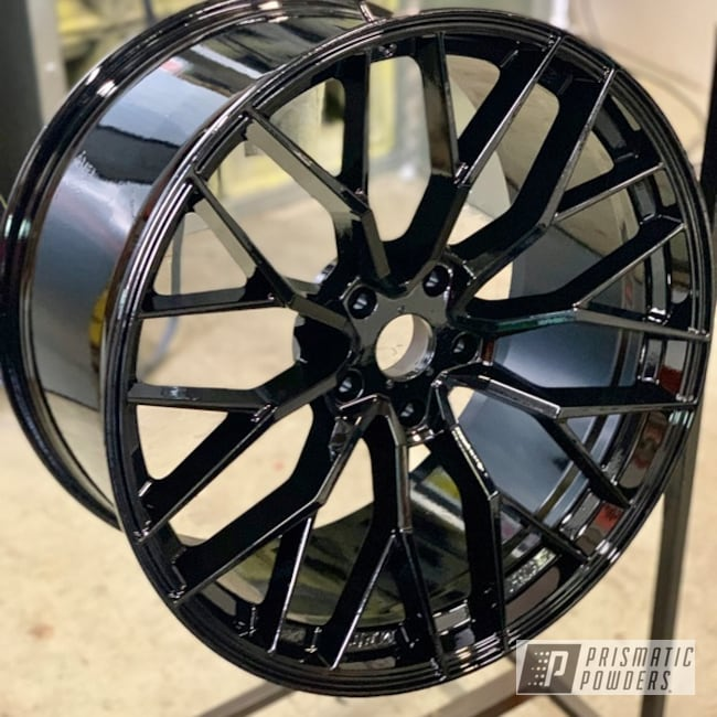 Powder Coating: Wheels,Automotive,22'',Ink Black PSS-0106,Cherokee Wheels,SRT,Jeep,Jeep Grand Cherokee Wheels