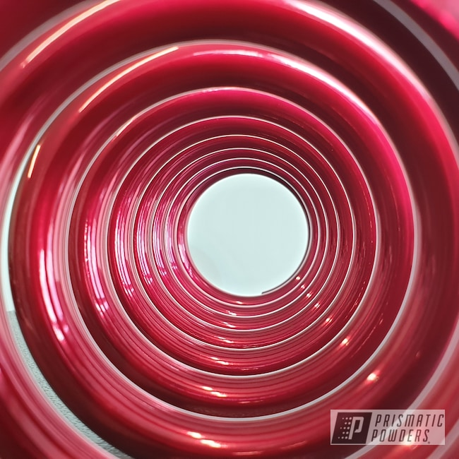 Powder Coating: SUPER CHROME USS-4482,Motor Bike Parts,Springs,Motorcycles,Escudo,Soft Red Candy PPS-2888,Hubs