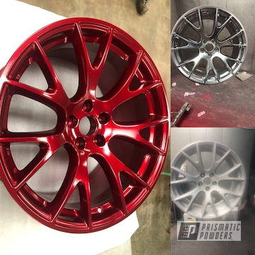 Powder Coated Aftermarket Dodge Challenger Wheels
