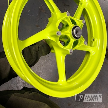 Powder Coated Custom Yamaha R1 Wheels