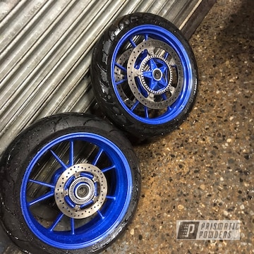 Powder Coated Custom Motorcycle Wheels