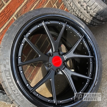 Powder Coated Two Piece Wheels