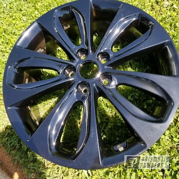 Hyundai Hyundai Sonata Wheels In Pearl Black