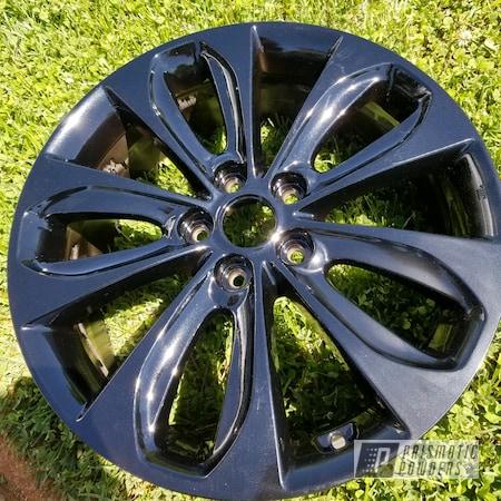 "Powder Coating: 18"",Pearl Black PMB-5347,Hyundai,sonata"