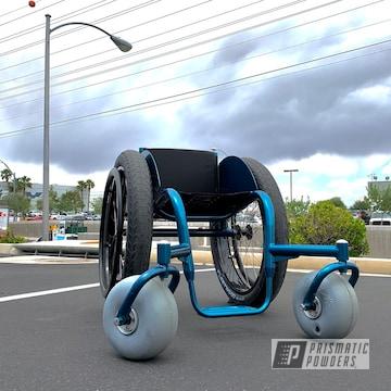 Powder Coated Lashersport Wheelchair Frame