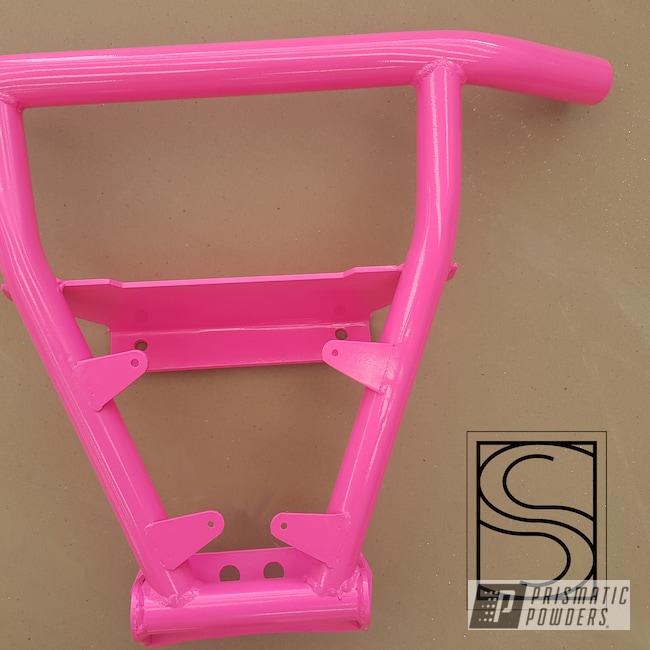 Powder Coating: Polaris RZR,custom bumper,RZR Bumpers,Polaris,Sassy PSS-3063