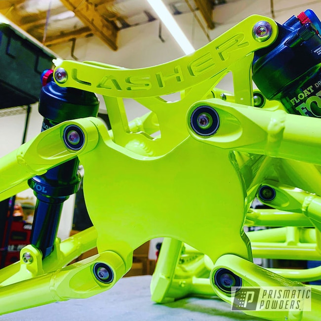 Powder Coating: ATH-FS.1,Handcycle,Neon Yellow PSS-1104,Bicycle,Suspension,Lashersport