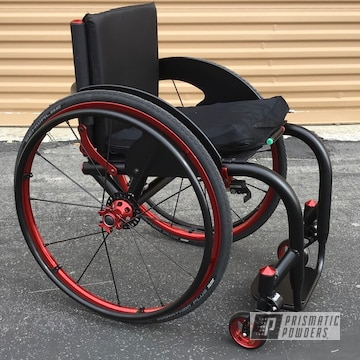 Powder Coated Lasher Sport Bt-mg Magnesium Wheelchair
