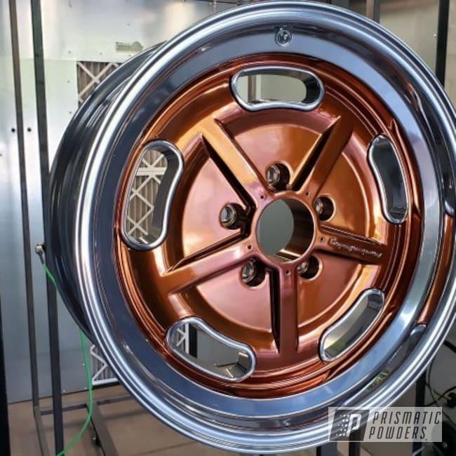 Powder Coating: Wheels,Transparent Copper PPS-5162,Transparent Powder Coating,Copper,American Racing