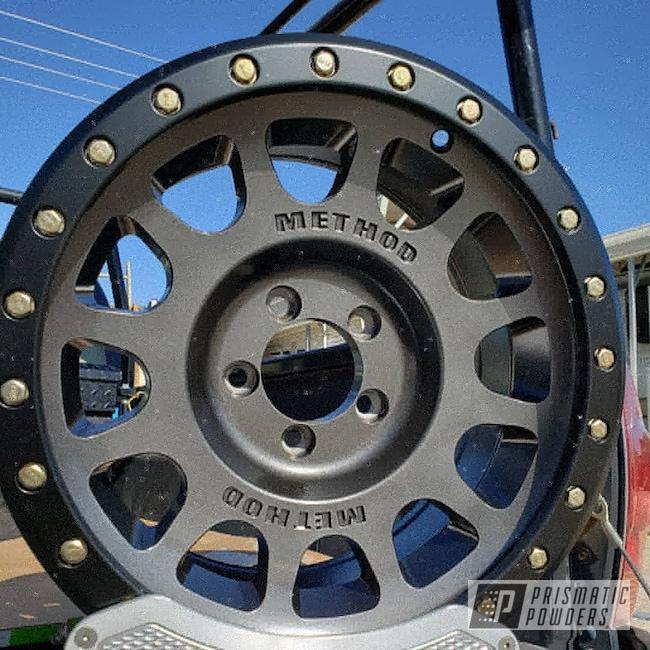 "Powder Coating: Automotive,BLACK JACK USS-1522,17s,17"" Wheels,Rubicon,Jeep,Crystal Grey PMB-5913,Method Race Wheels,Jeep Wheels"