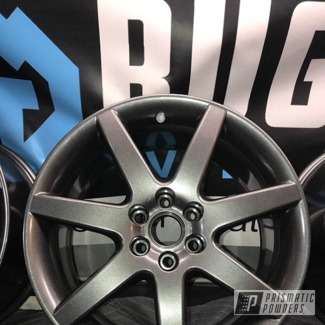 """Powder Coating: Wheels,Automotive,18"""",Kingsport Grey PMB-5027,18"""" Wheels,CTSV,Cadillac"""