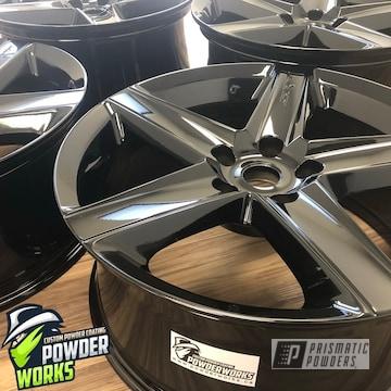Powder Coated Black Rims