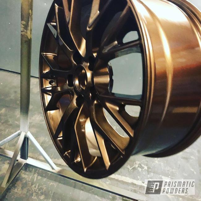 "Powder Coating: Wheels,Automotive,Corvette Z06,18"",Chevrolet,Bronze Chrome PMB-4124,18"" Wheels,Chevy"