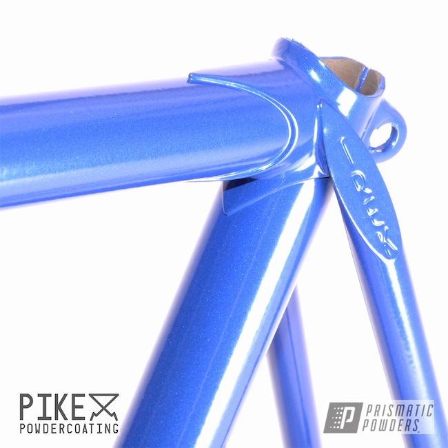Powder Coating: Bicycle Frame and Fork,Bicycles,Trek,Bike Frame,Bike,Fork,MANHATTAN BLUE UMB-1930