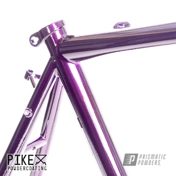 Powder Coated Bicycle Frame
