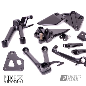 Powder Coated Suzuki Motorcycle Parts