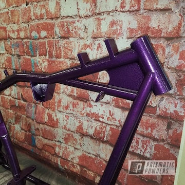 Powder Coated Harley Davidson Motorcycle Frame