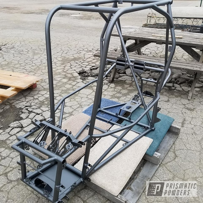 Powder Coating: Mud Runner,Racing,Baja Racing,STEALTH CHARCOAL PMB-6547,Race Car Chassis