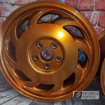 Powder Coated 19 Inch Aluminum Wheels