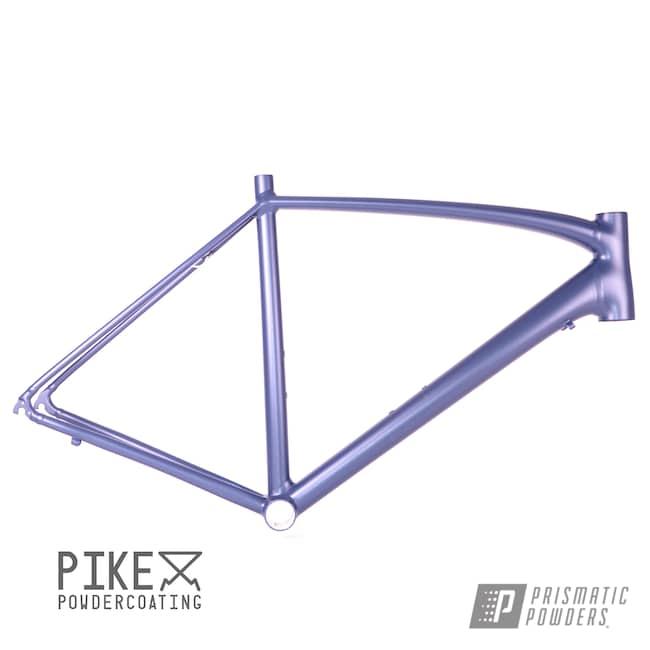 Powder Coating: Bicycles,Bike Frame,Charcoal Suede PSB-6787,Bike,Specialized,Allez