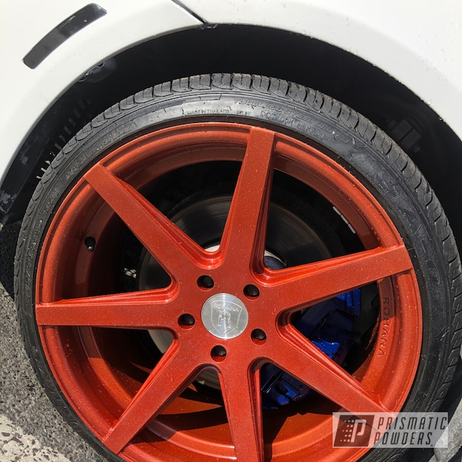 "Powder Coating: Wheels,Illusion Copper PMS-4622,Automotive,Clear Vision PPS-2974,20"",20"" Aluminum Wheels"