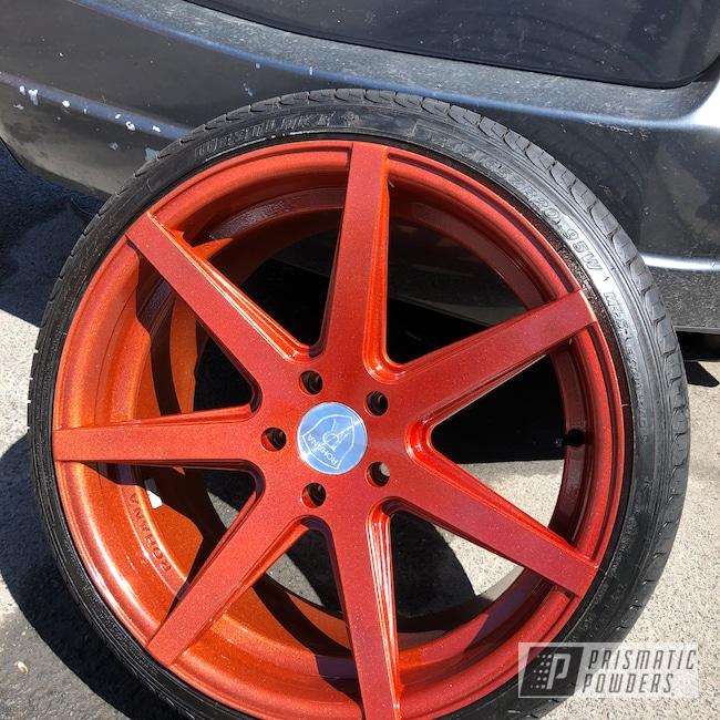 "Powder Coating: Wheels,Illusion Copper PMS-4622,Automotive,Clear Vision PPS-2974,20"",20"" Aluminum Wheels"