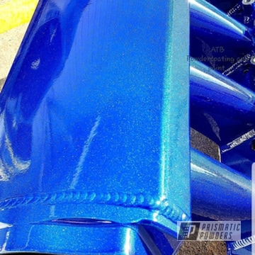Powder Coated Intake Manifold