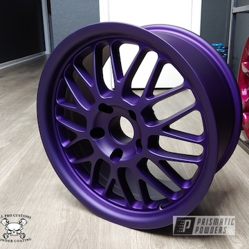 Powder Coated Purple Matte Rim