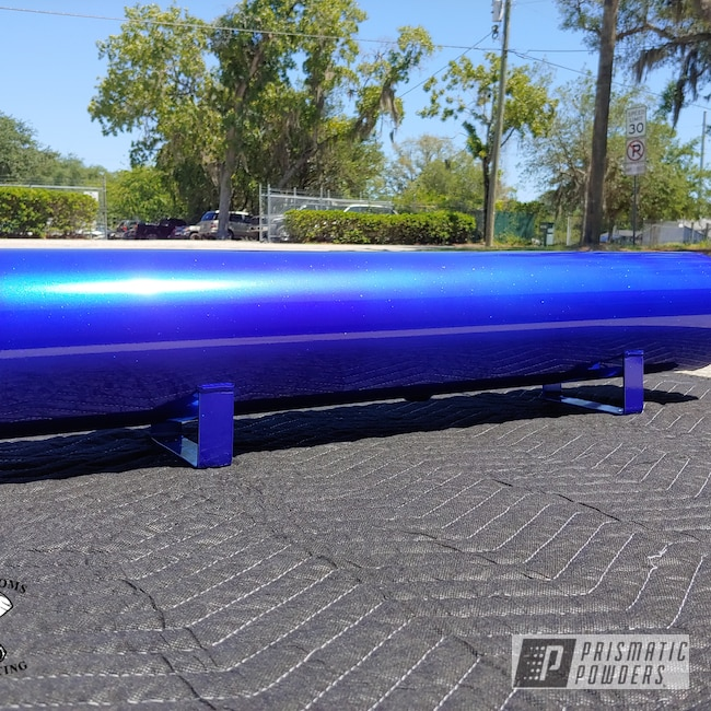 Powder Coating: Air Tank,Clear Vision PPS-2974,PIZZAZZ BLUE UPB-4677,Miscellaneous
