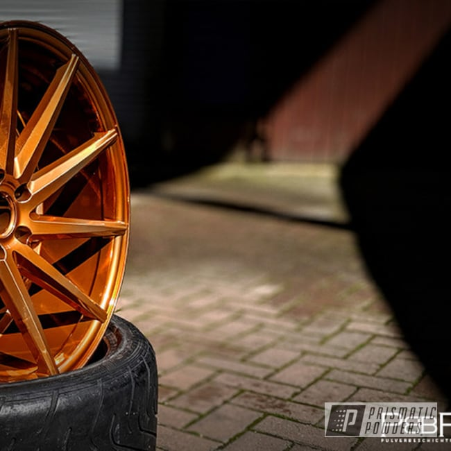 "Powder Coating: Wheels,Automotive,SUPER CHROME USS-4482,20"" Wheels,Aluminium Wheels,Copper,20"",Trans Copper II PPS-2618"