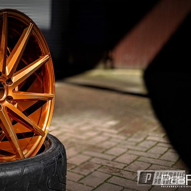 "Powder Coating: Wheels,Automotive,SUPER CHROME USS-4482,20"" Wheels,Aluminium Wheels,Copper,20"",Trans Copper II PPS-2618"