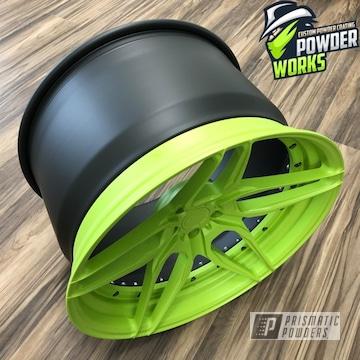 Powder Coated Two Tone Wheel
