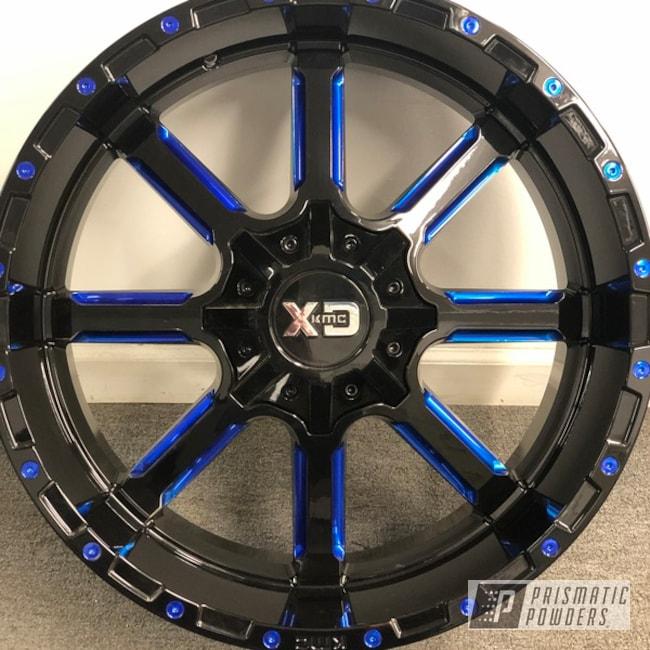 Powder Coating: Wheels,Automotive,Candyblue,Custom Wheels,LOLLYPOP BLUE UPS-2502,Candy