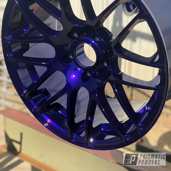 Powder Coating: Wheels,Automotive,Intense Blue PPB-4474