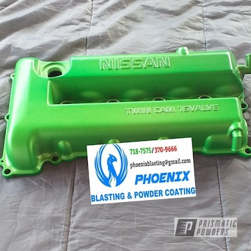 Powder Coated Nissan Valve Cover