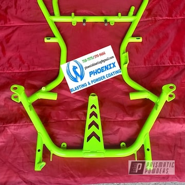 Powder Coated Go Cart Frame