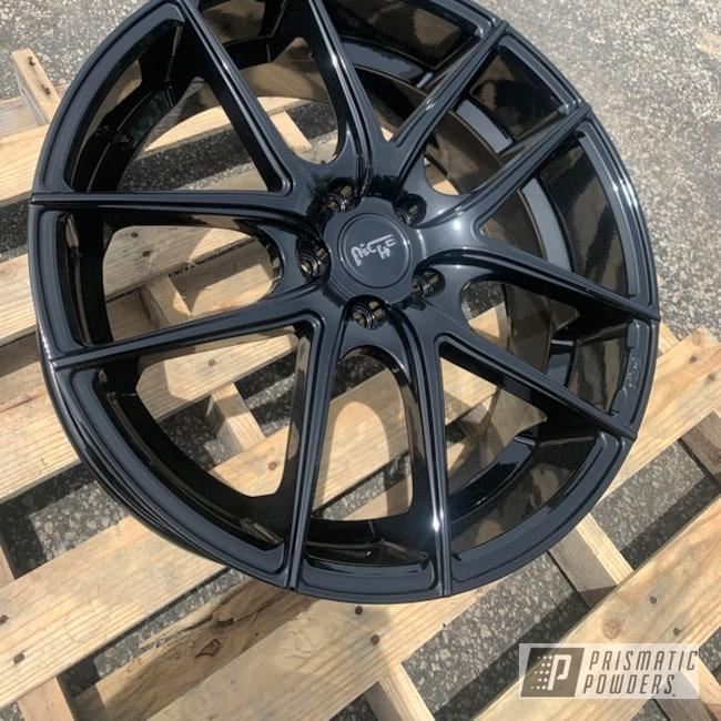 Powder Coating: Wheels,Automotive,20'',Niche,Ink Black PSS-0106,Niche Wheels